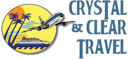Crystal & Clear Travel logo